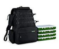 best fishing backpacks with rod holders - Rodeel Fishing Tackle Backpack