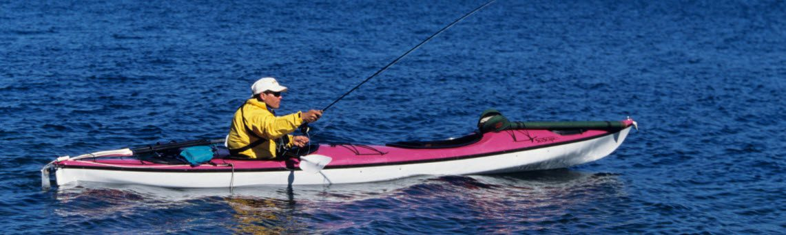 best kayak fishing coolers - man in kayak