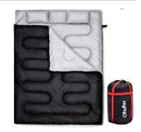 best sleeping bags for winter camping - Ohuhu Double Thickened Sleeping Bag