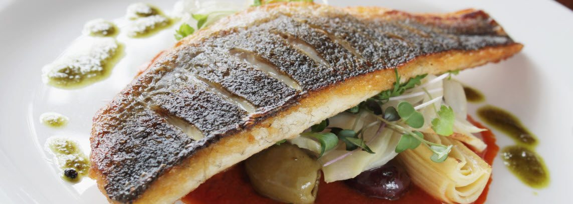 largemouth Bass - cooked fillet