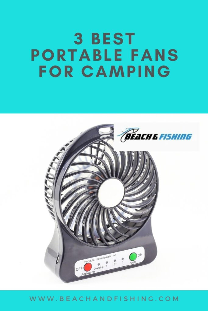 3 Best Portable Fans For Camping - Pinterest