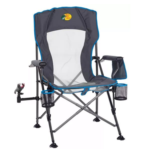 Best Fishing Chairs With A Rod Holder - Bass Pro Shops Lunker