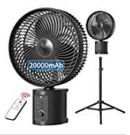 best portable fans - VEARMOAD Battery Operated Fan