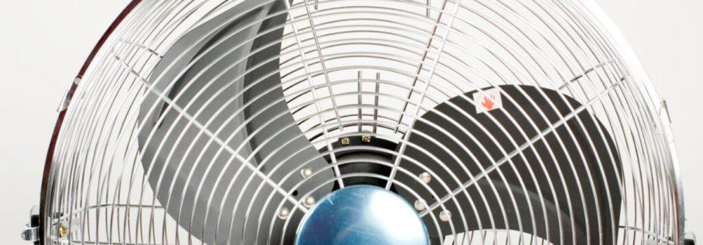 best portable fans - fan blades