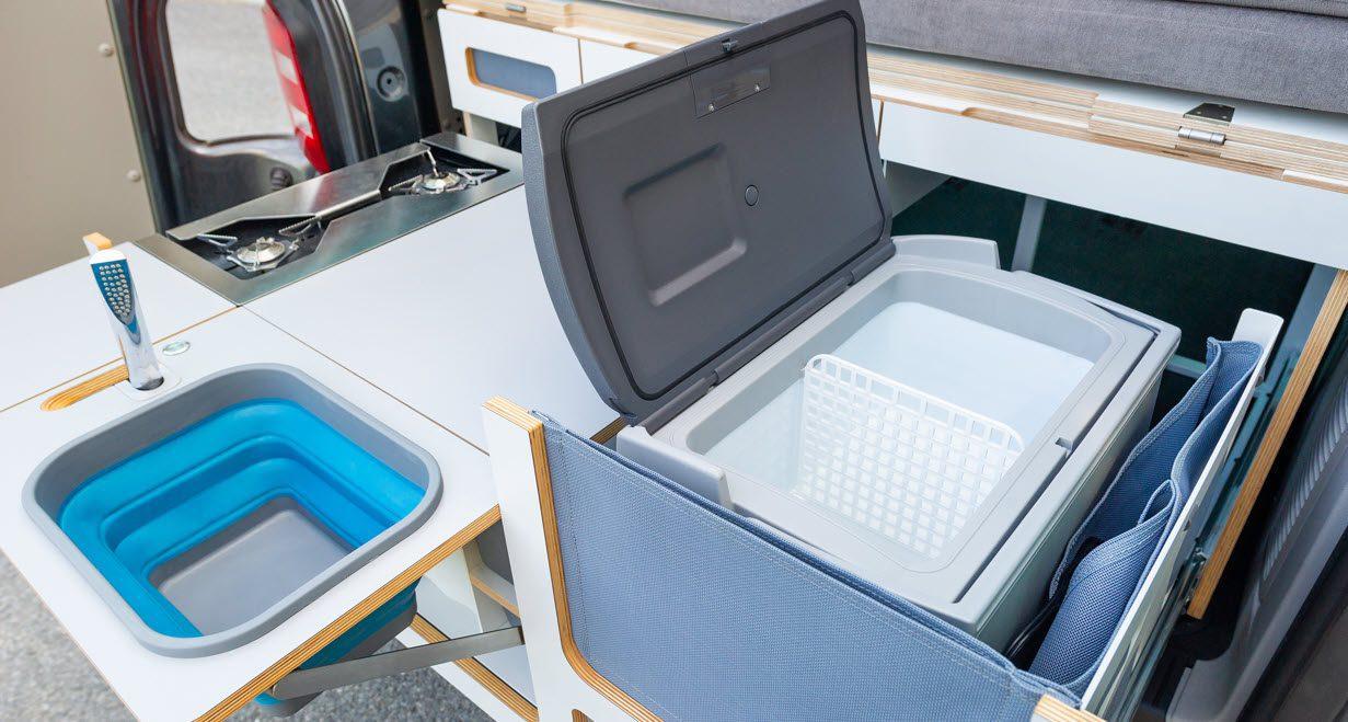 best portable fridge freezers - fridge in car