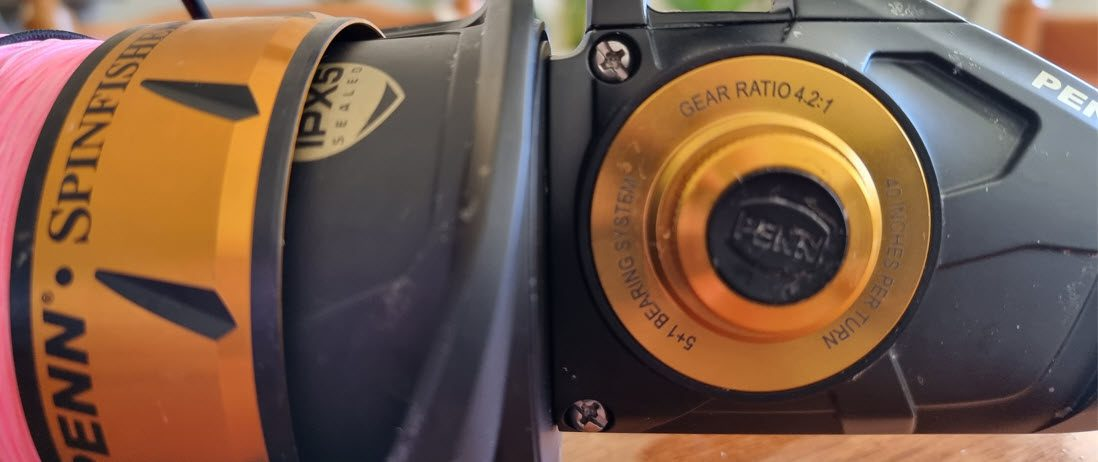 penn spinfisher IV review - specs